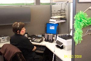 This is me hard at work!